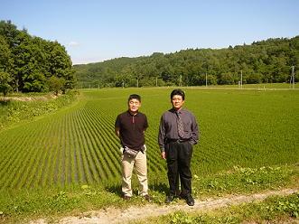 北海道・新十津川町の専業稲作農家、仲西さん